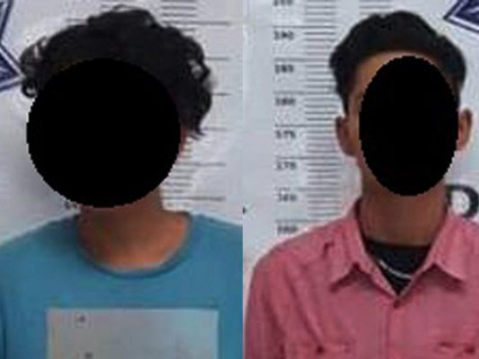 DSPM detiene a dos menores por robo con violencia
