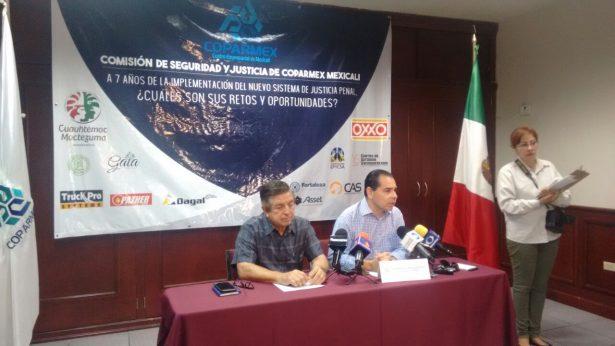 Presenta Coparmex foro sobre Nuevo Sistema de Justicia Penal
