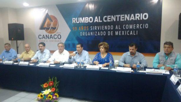 Anuncian festejos del 99 aniversario de Canaco Mexicali