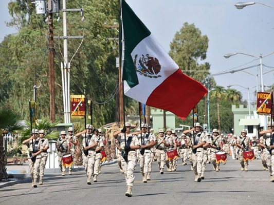 Invita el Ejército a tradicional desfile de Independencia