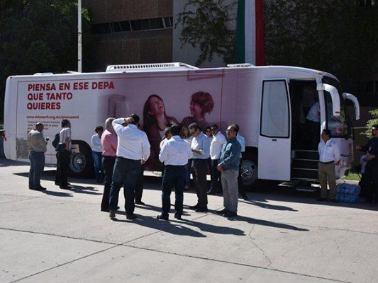 Llega INFONABÚS a Mexicali