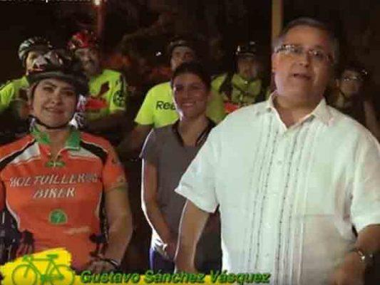 Alcalde irá a trabajar en bicicleta