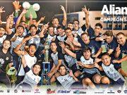 """Poster Campeón Categoria Sub 20 """"Alianza"""""""