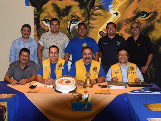 Junta de Club Leones de Palaco