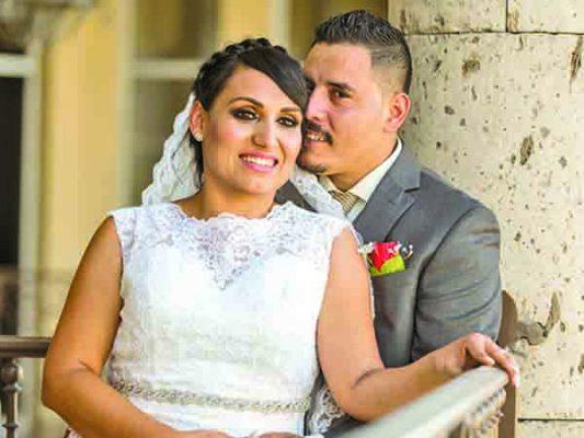 Se juran amor Irma y Juan Antonio