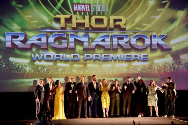 Así se vivio la Premiere mundial de Thor: Ragnarok en Hollywood