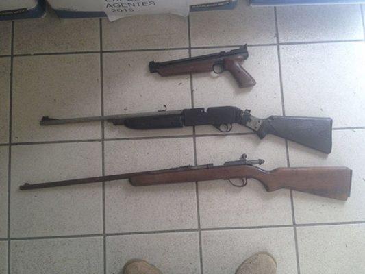 GOLPE al narco, aseguran en Tijuana marihuana y armas largas
