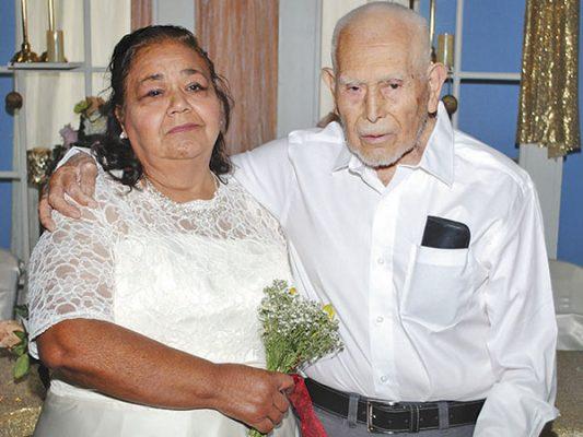 Félix y Juana unen sus vidas