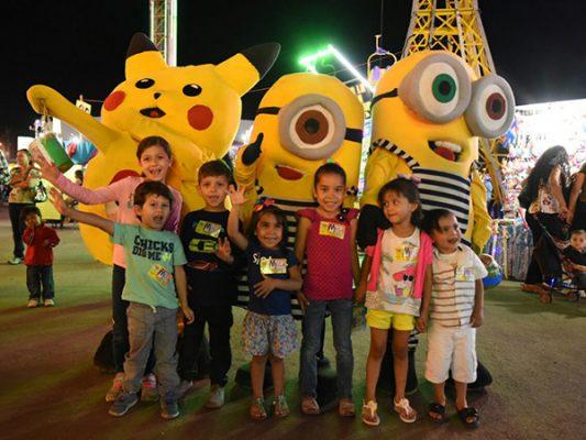 GALERÍA: Pequeños disfrutan este miércoles de fiestas