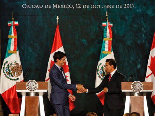 México y Canadá más que socios, son amigos, destaca Trudeau