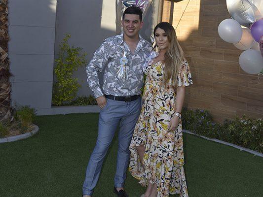 Valeria y Richard Ruiz  tienen convivencia