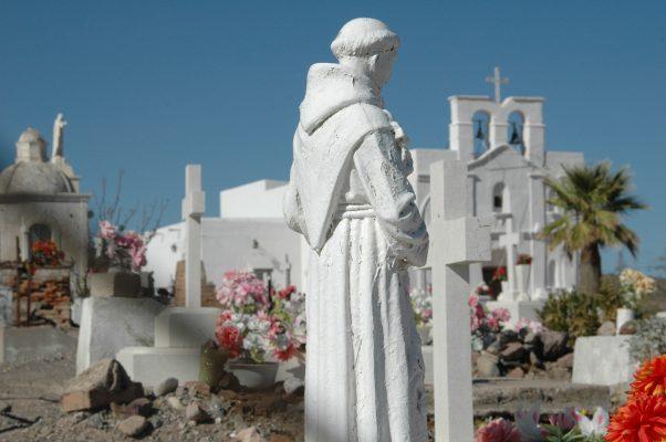 En Tijuana , gran monumento al Padre Eusebio Kino