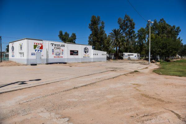 Unidad Deportiva Robledo, explotada por la familia Escalante