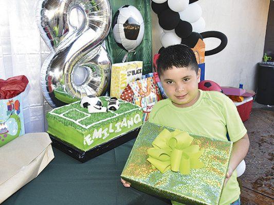 Emiliano cumple 8 años