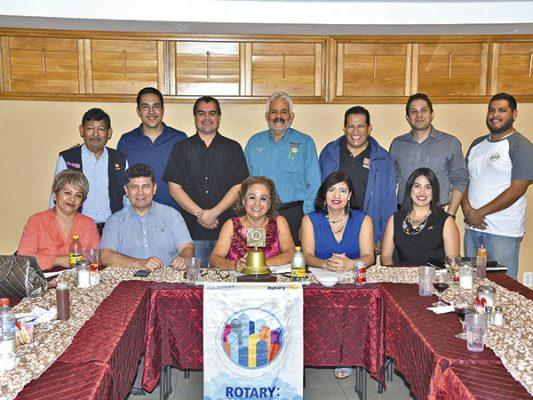 Club Rotario Centinela en su sesión ordinaria.