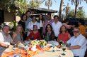 La festejada con la familia Amezcua.