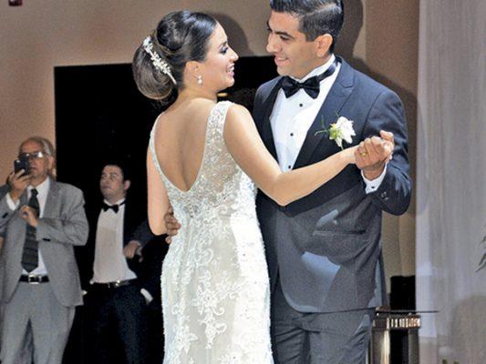 Celebran su boda Luvia y Daniel