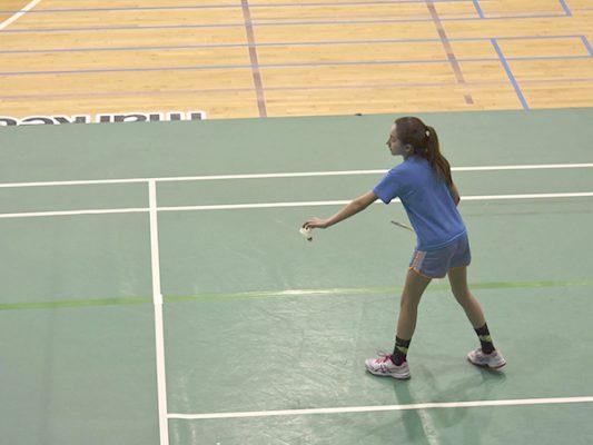 Carla Alejandra Silva Cibrián, promesa del badminton.