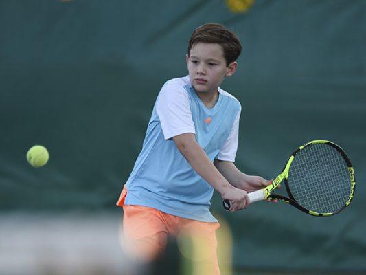 Surgen campeones infantiles en Casino Open de tenis