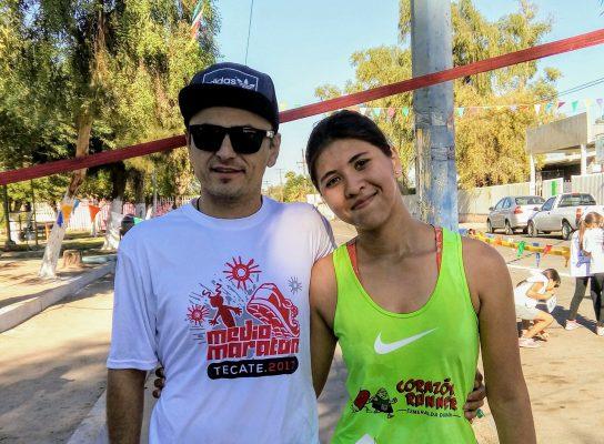 Sergio Soto y Esmeralda Durán son los campeones de la Carrera Atlética del Pilar 2017