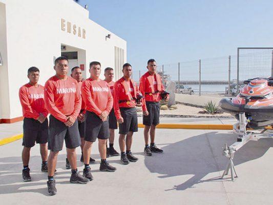 Inauguran estación naval en San Felipe