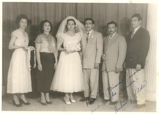 1953, Boda en Inmaculada de don Rubén y Aída Payán