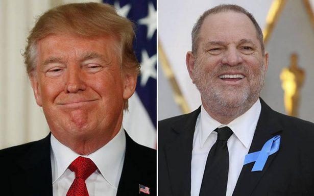 Hillary Clinton compara a Harvey Weinstein con Donald Trump