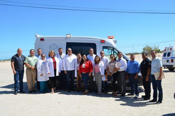 Adquirió ISSSTE ambulancia para San Felipe