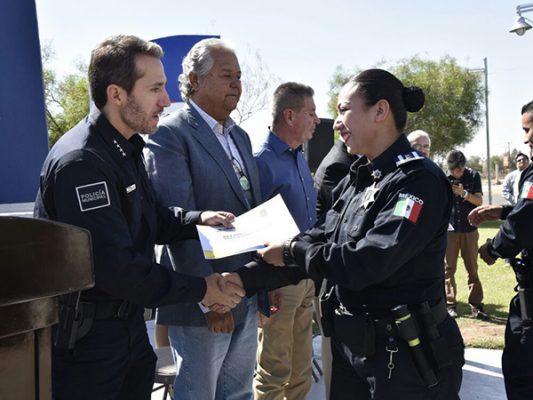 Se incorporan 38 a la Policía Municipal