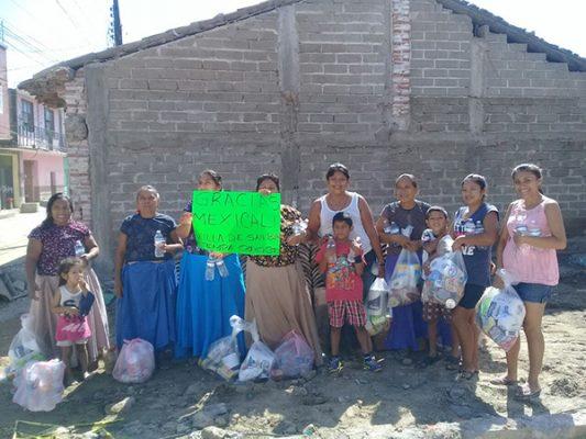 Llegan apoyos de Mexicali por México