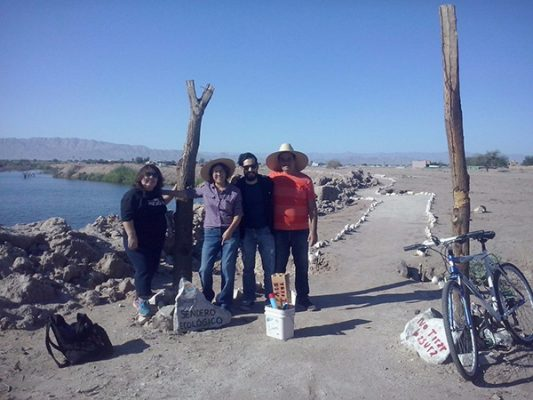 Instalan señalamientos de sendero en Laguna México