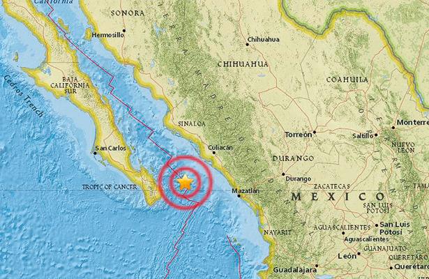 Se registra temblor de 4.2 grados en Los Cabos