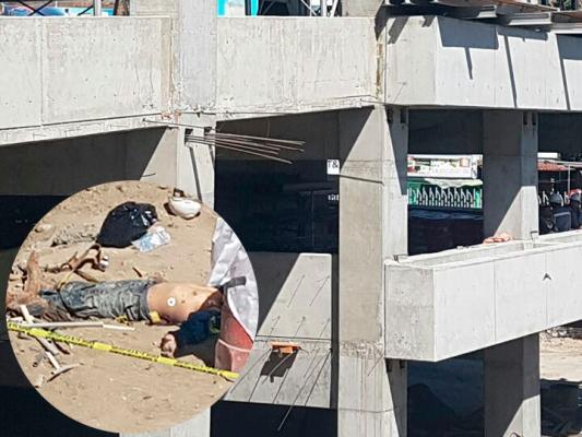 Muere trabajador al caer de séptimo piso en construcción