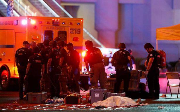 Balance de masacre en Las Vegas sube a 59 muertos y 527 heridos
