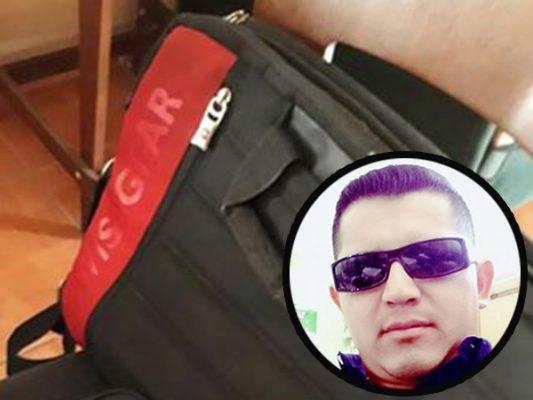 Buscan maletín con documentos importantes
