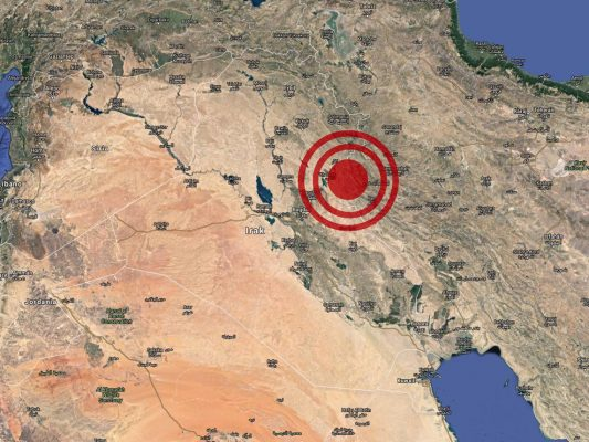 Fuerte sismo de 7.2 en Irán e Iraq, deja mal menos 67 muertos