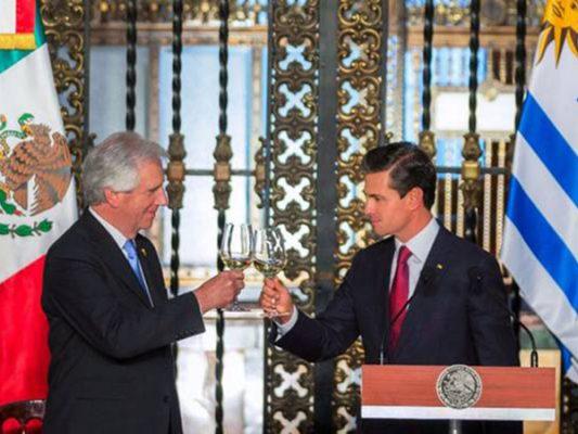 México y Uruguay acuerdan establecer mecanismos de combate contra el narcotráfico