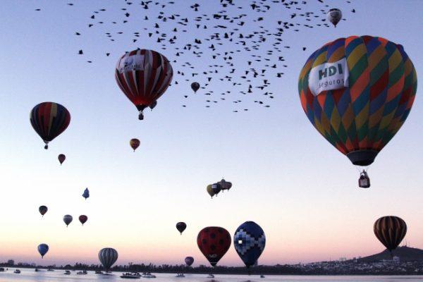 Volar en globo, una experiencia muy segura y maravillosa