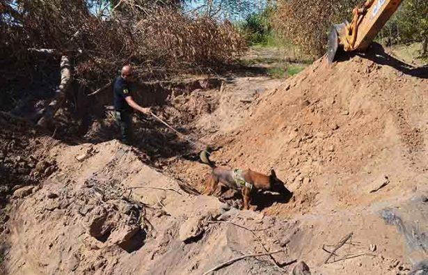 Localizan restos de víctima de secuestro en el Valle