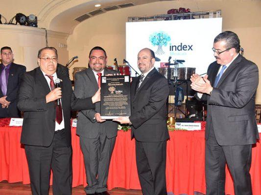 Entregó Asociación de Ejecutivos Premio de la Mercadotecnia a Index