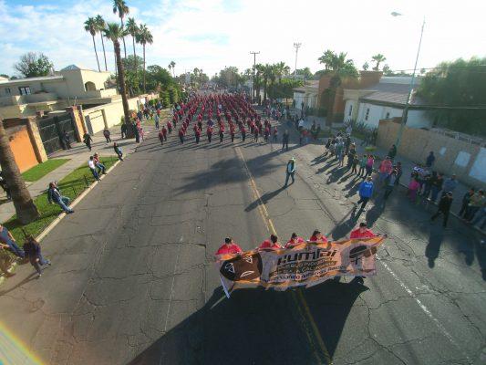 GALERÍA: Empieza desfile por Aniversario de la Revolución