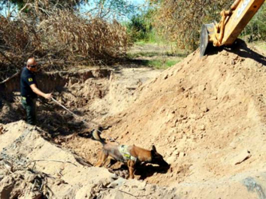 """Localizan restos de desaparecido por 8 """"Pepos"""""""