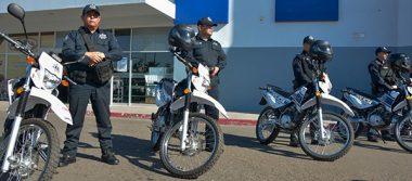 Dona IP 5 motos a DSPM