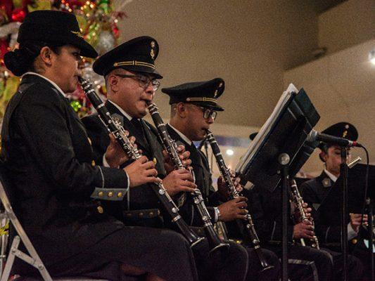 Banda de Música militar tiene concierto