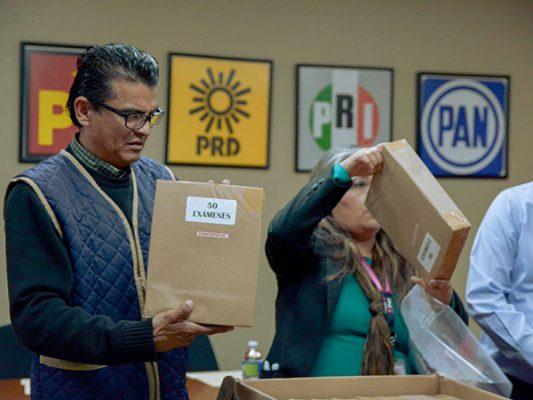 Aplicarán el sábado examen a aspirantes a capacitadores y supervisores electorales
