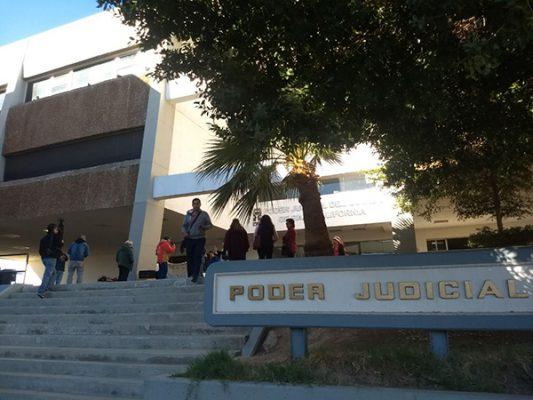 Montan protesta en Poder Judicial