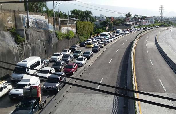 Abren carriles de Paso Express; uno a Guerrero, otro a CDMX