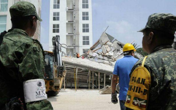 Suman 224 muertos por temblor en México