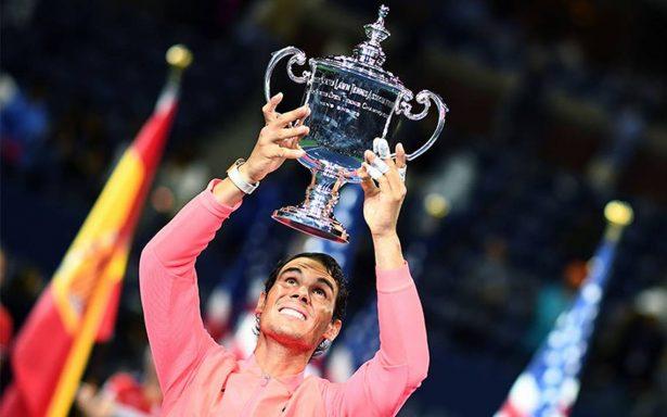 Tras coronarse campeón, Rafael Nadal recuerda a víctimas de México y el mundo