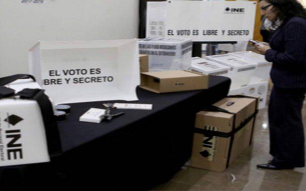 Presentan modelo de casilla para elecciones del 1 de julio